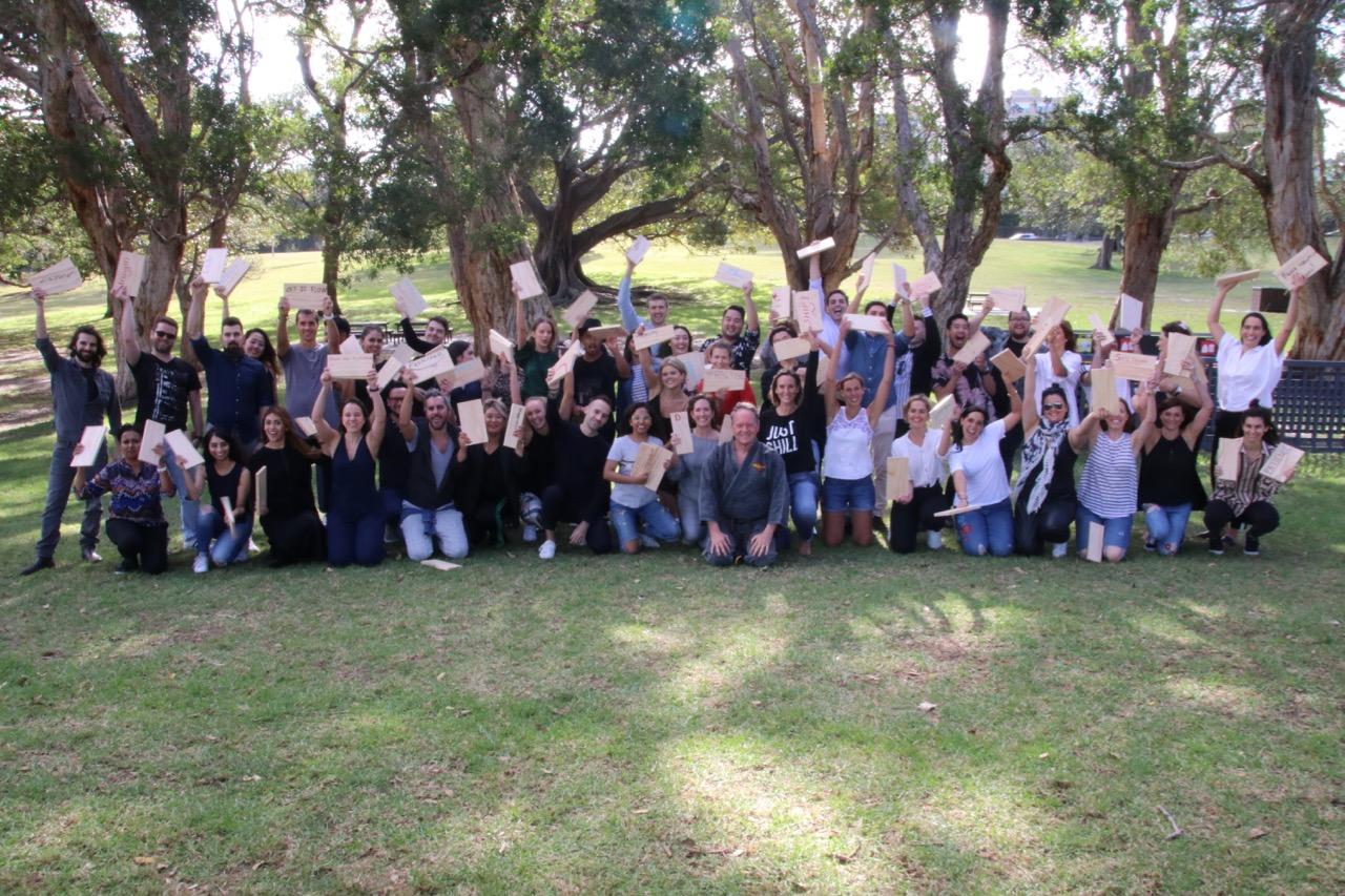 Corporate Challenge event for Hidden Door in Sydney